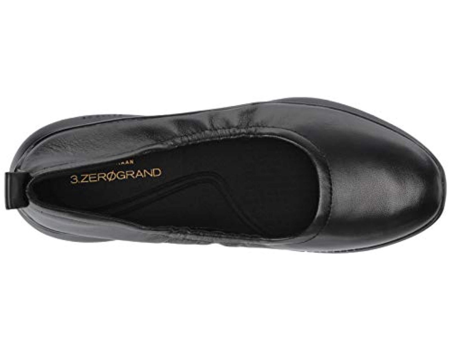 fed7d3958ba96 Women's Black Olivia Stitch Ballet Flat