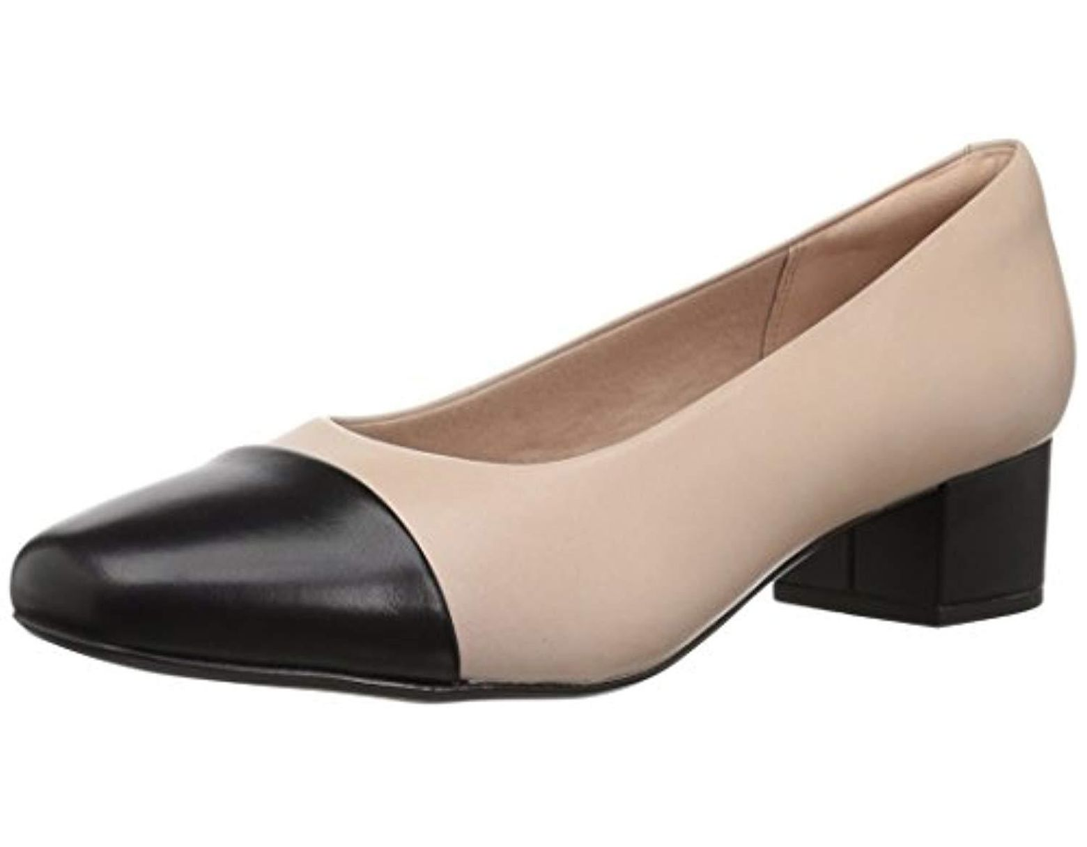 85bfde0a61 Clarks Chartli Diva Pump in Natural - Lyst