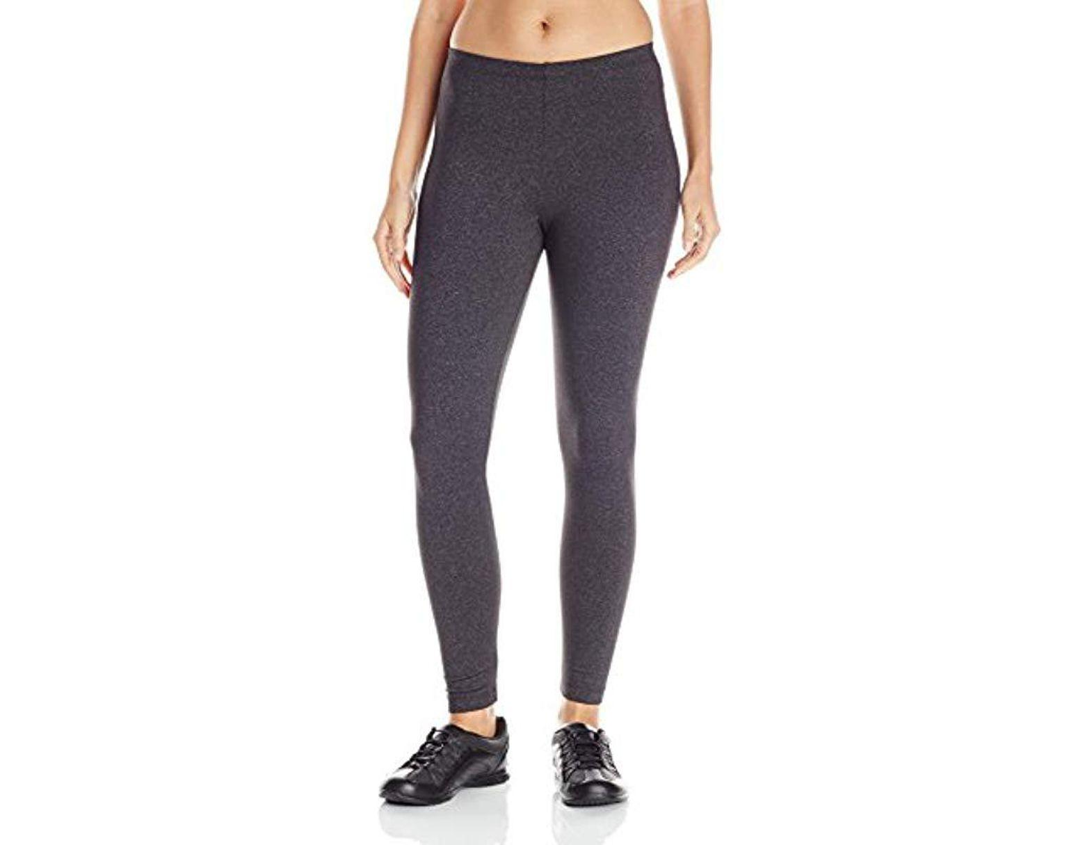 29b060ea151c8 Danskin Classic Supplex Body Fit Ankle Legging in Gray - Lyst