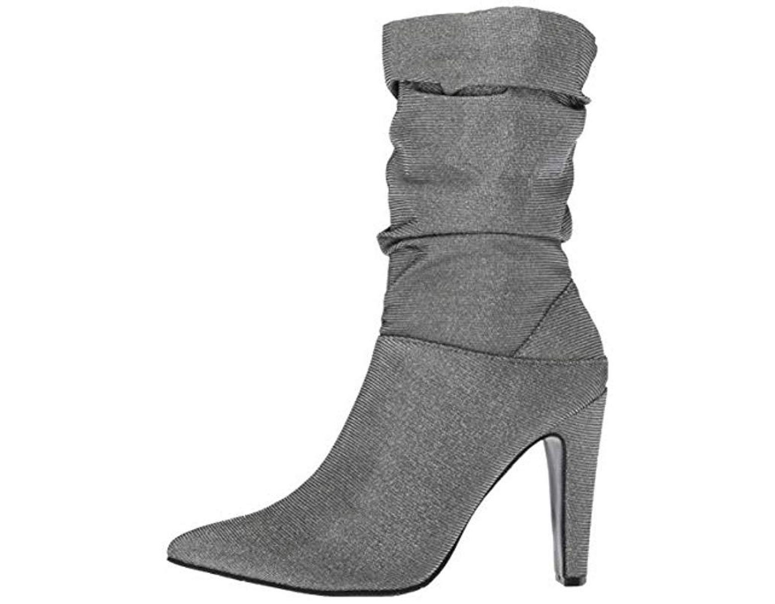 9211539b89f5c Women's Gray Darla Slouchy Metallic Boots