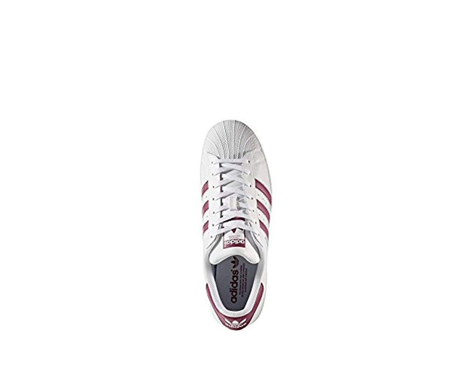 b07133a7ab63a adidas Originals Superstar Trainers in White for Men - Lyst