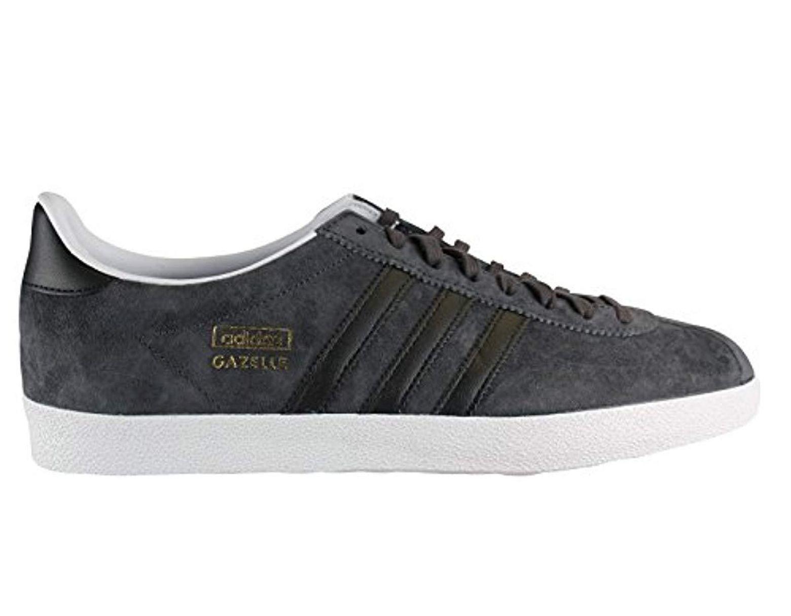 adidas Originals Gazelle Og, Baskets Mode Homme in Black for