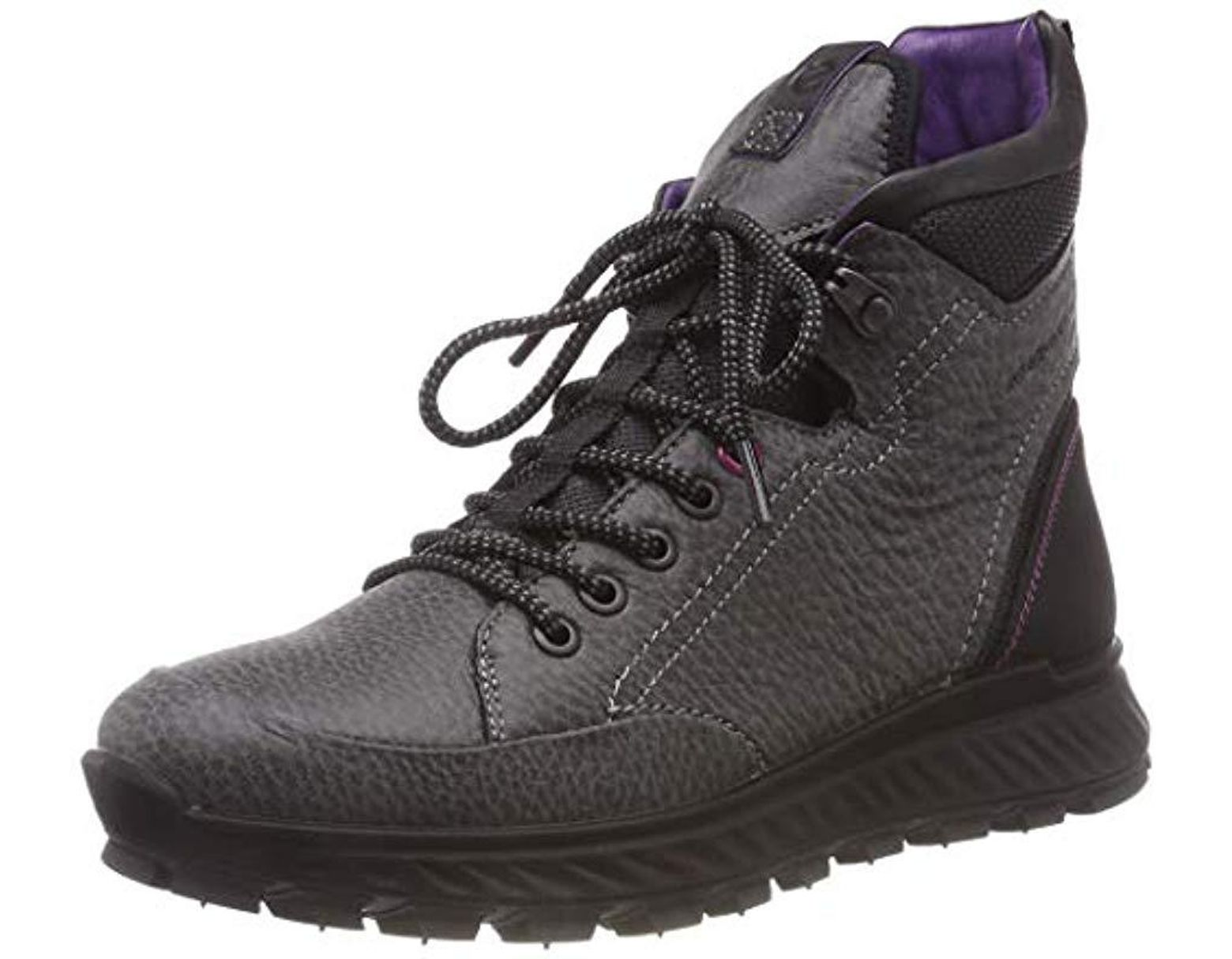 09cf406b7c967 Ecco Exostrike Boots in Black - Lyst