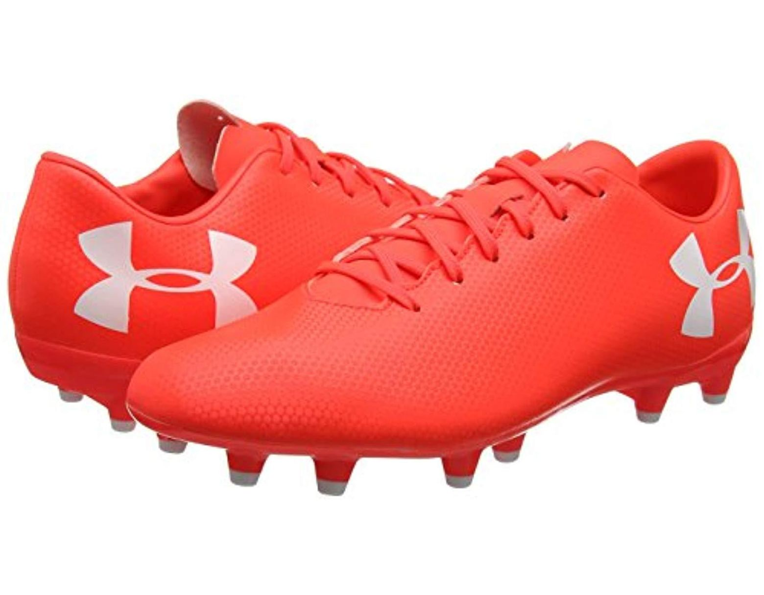822dd75e Under Armour Ua Force 3.0 Fg Football Boots in Red for Men - Lyst