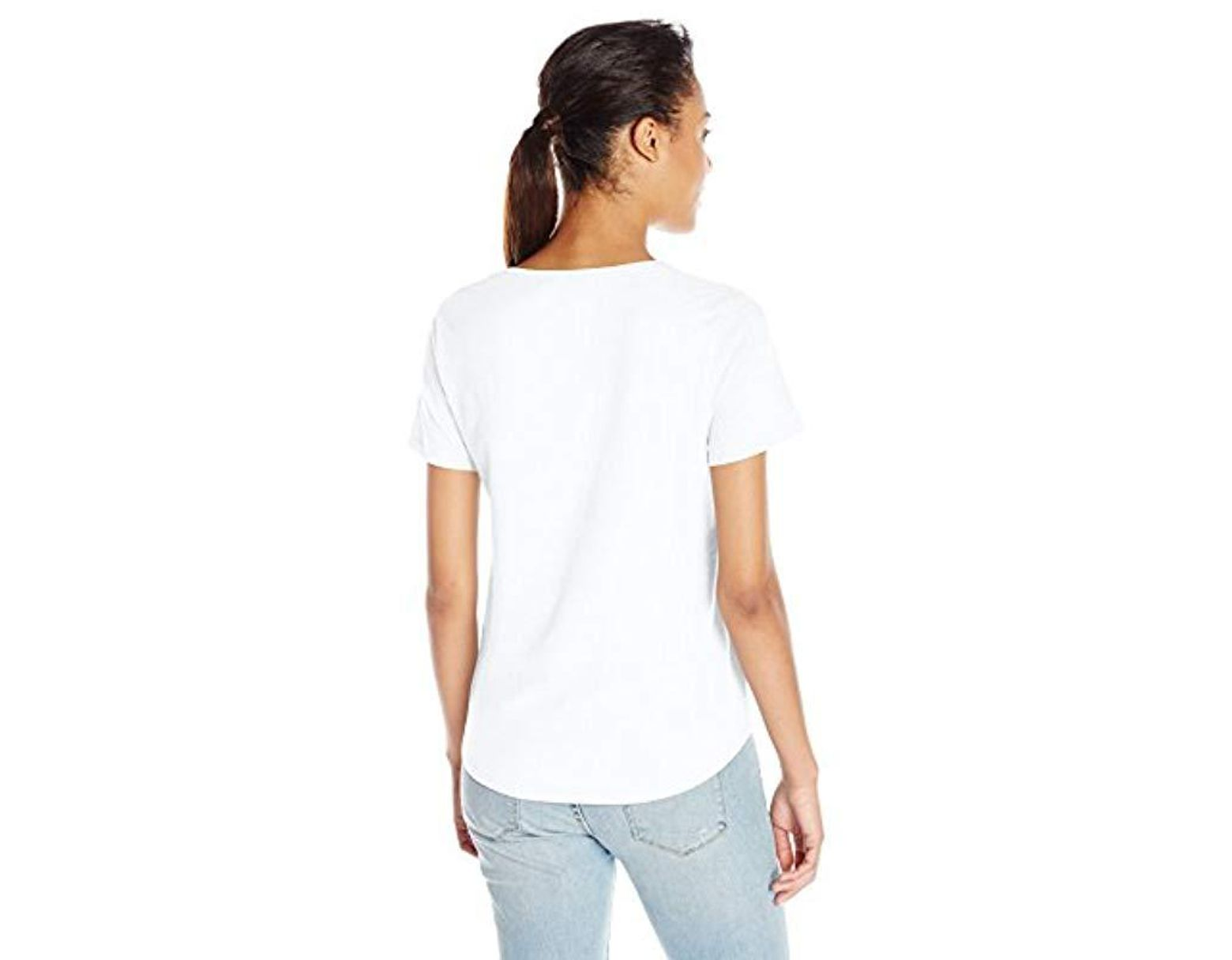 aa21c7cbbd214 Lyst - American Apparel Ultra Wash Short Sleeve Tee in White - Save 53%