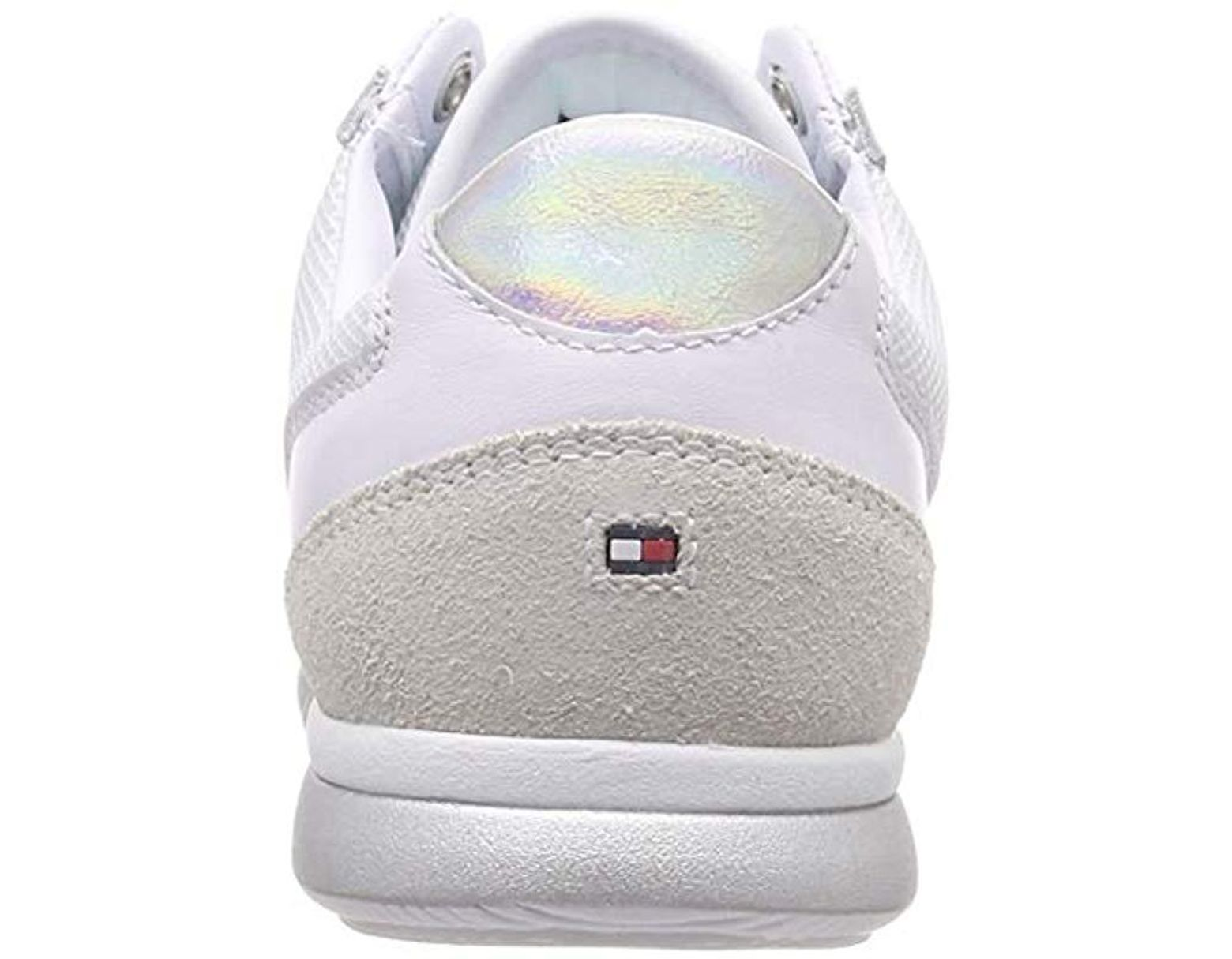 6e824f38d Tommy Hilfiger Iridescent Light Sneaker Low-top in White - Save 9% - Lyst