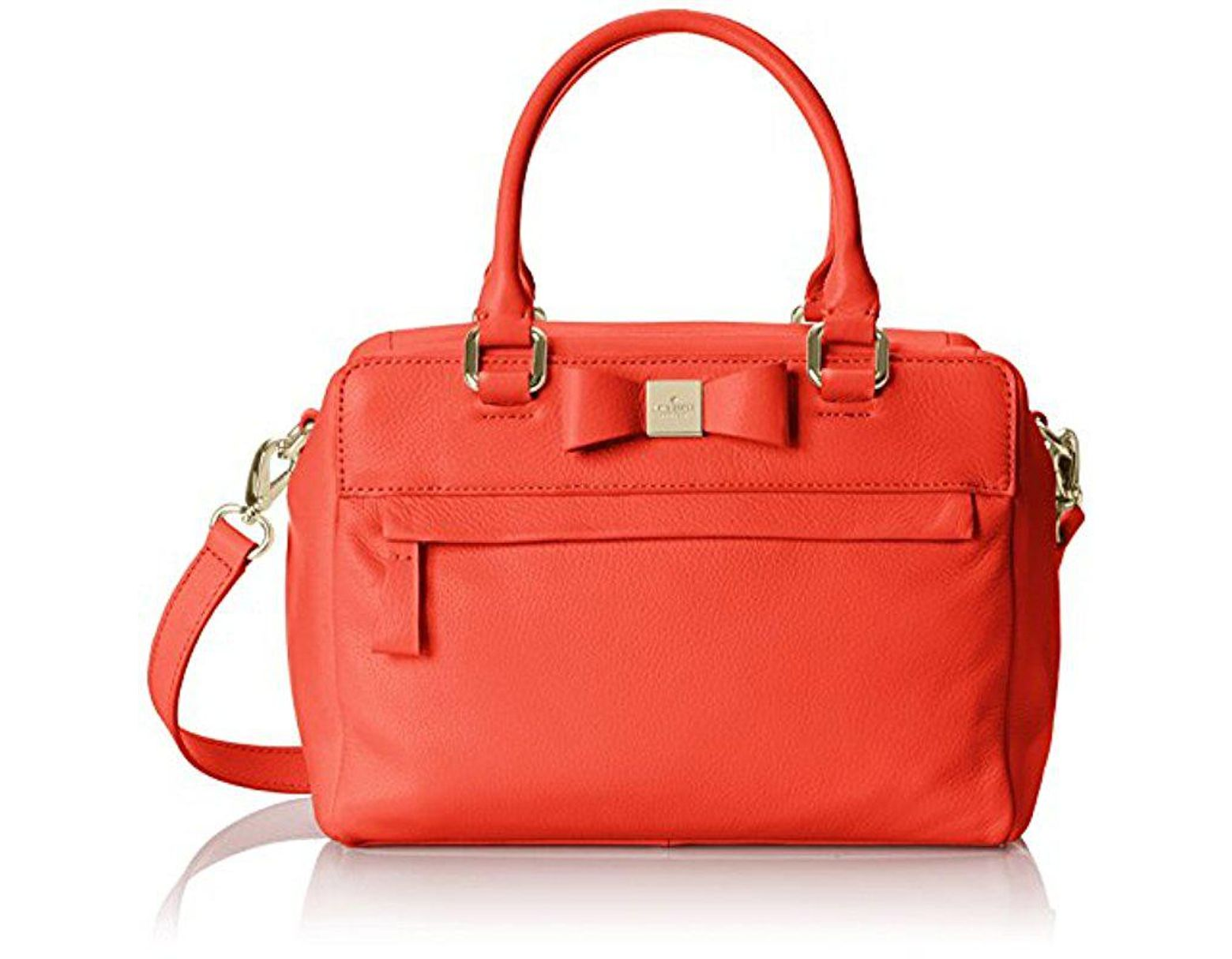 1ecbf1c0a418 Kate Spade Renny Drive Ashton Top Handle Bag in Red - Lyst