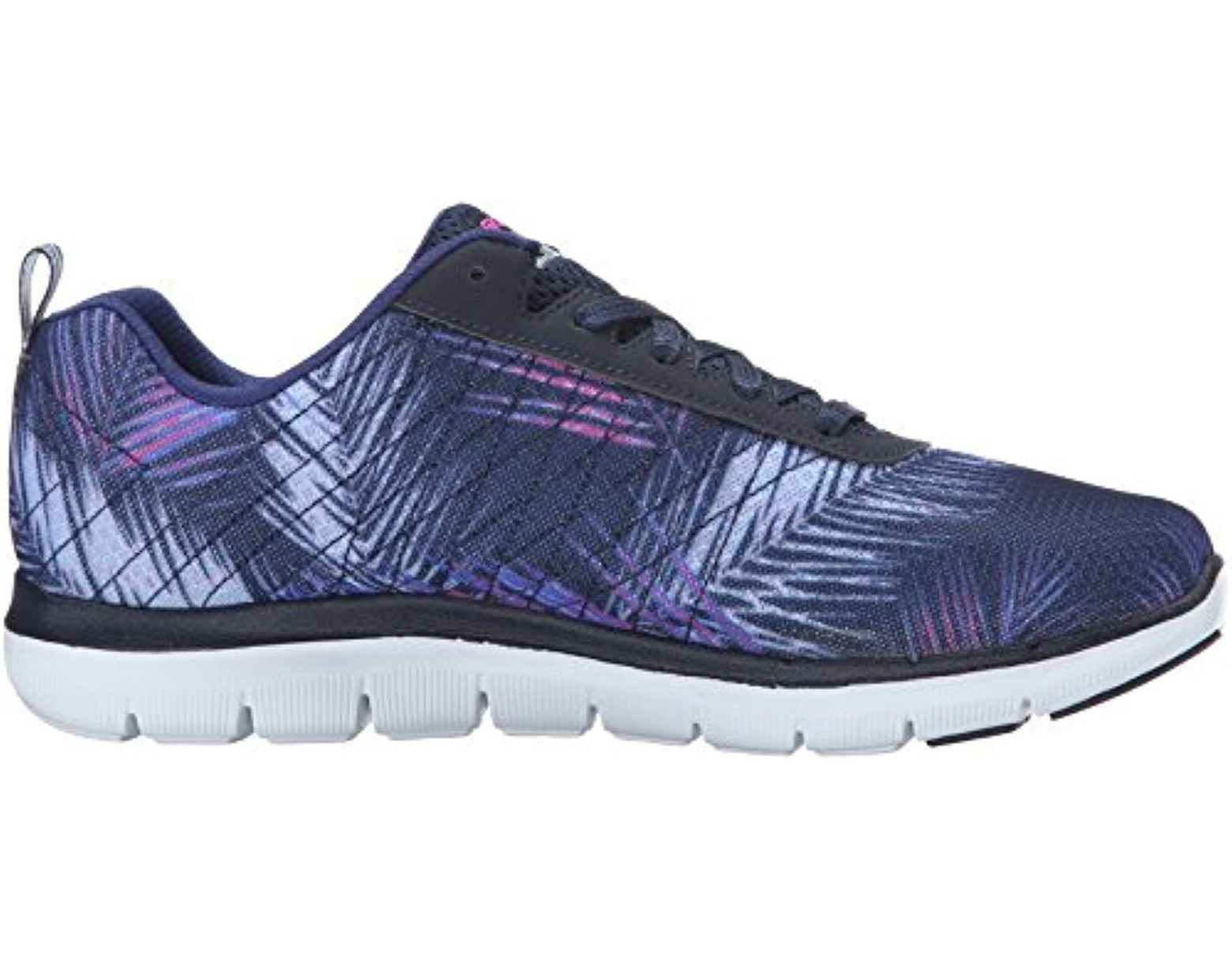 0759f199db4c2 Skechers Flex Appeal 2.0 Tropical Bree Multisport Outdoor Shoes in Blue -  Save 2% - Lyst