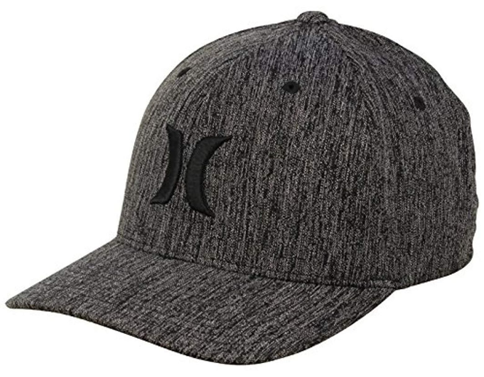 brand new cce0f 695f2 Hurley. Men s Black Textures Baseball Cap