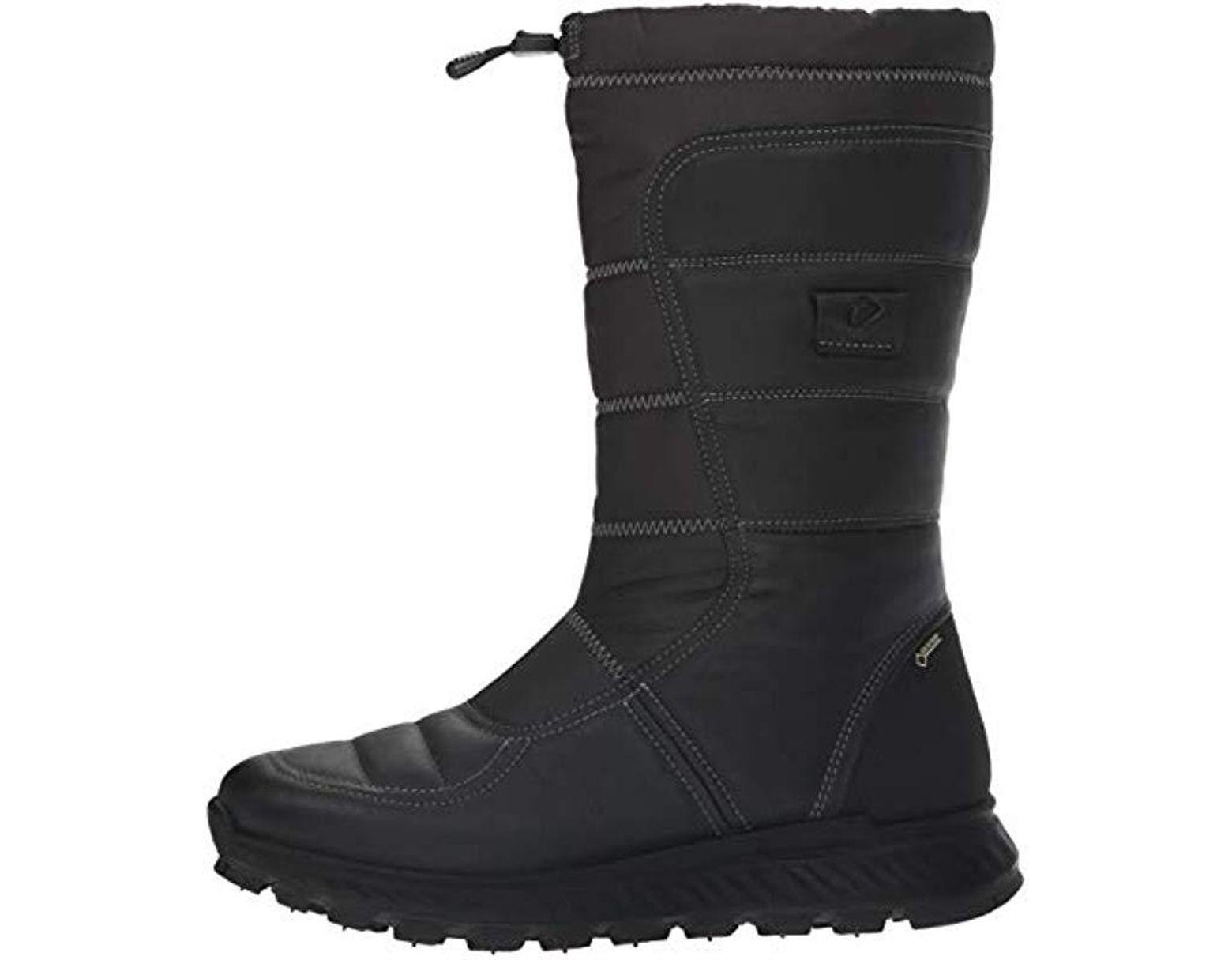 e1c56e6753636 Ecco Exostrike Snow Boots in Black - Save 46% - Lyst
