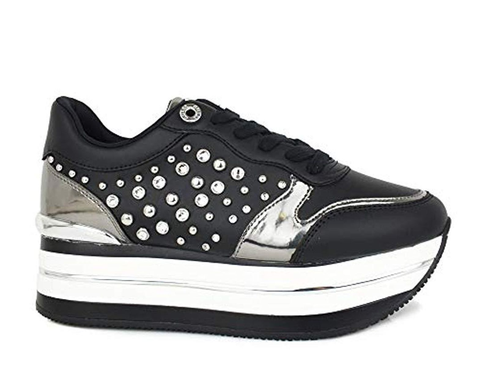 Fl5hinlac12 Femme 36 Sneakers Fl5hinlac12 Sneakers Guess Guess Femme 36 Guess N0w8mnv