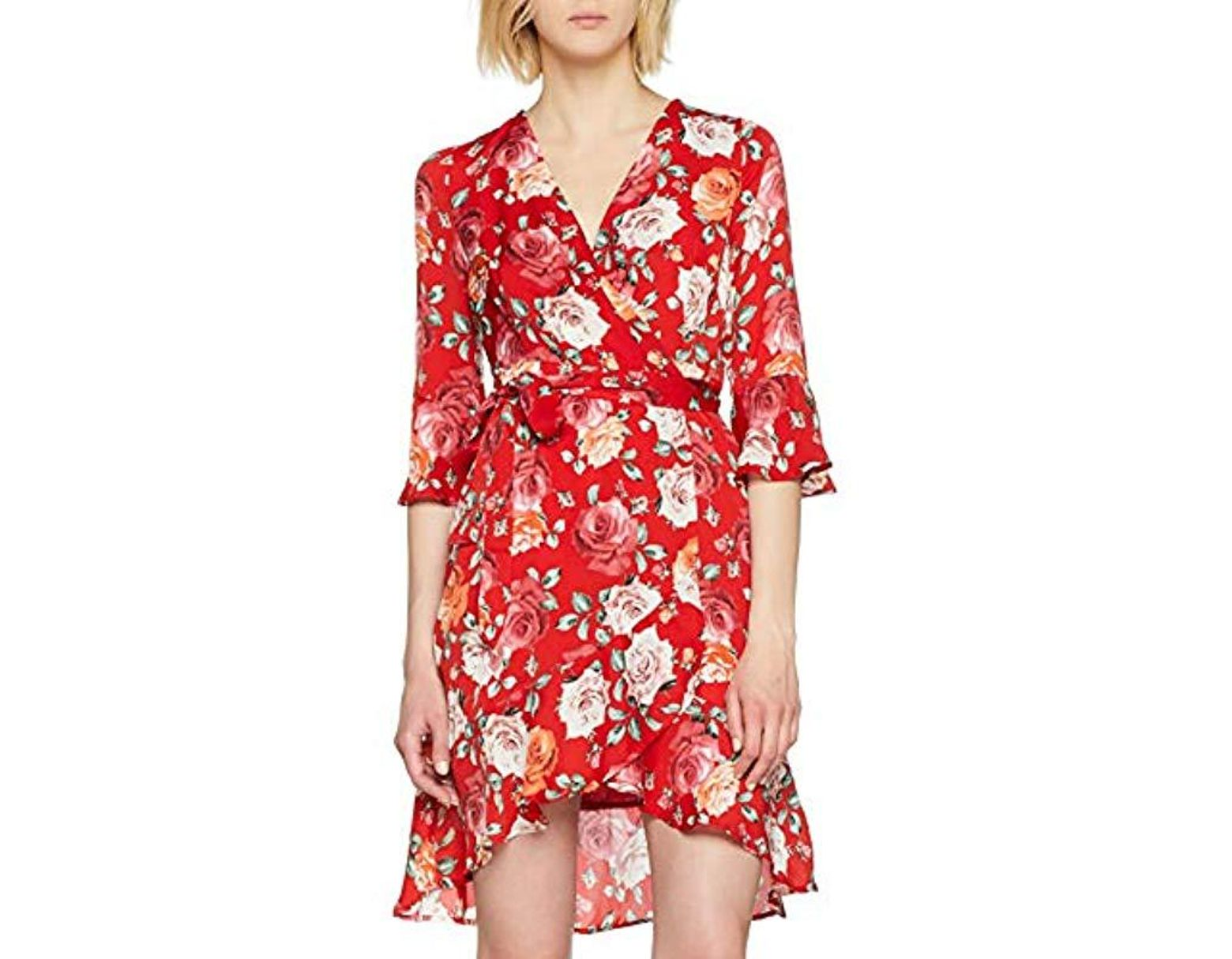 85886fa202997e Guess Adriane Dress in Red - Lyst