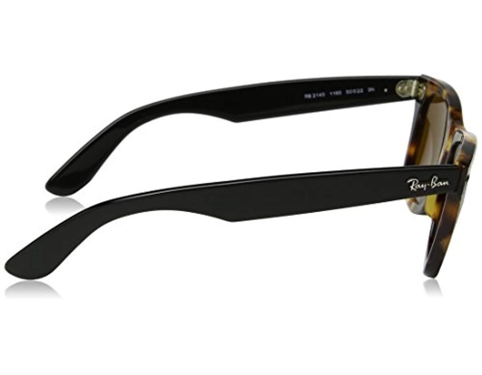 7fca87296 MOD. 2140, Gafas de Sol Unisex Ray-Ban de hombre de color Marrón - Lyst