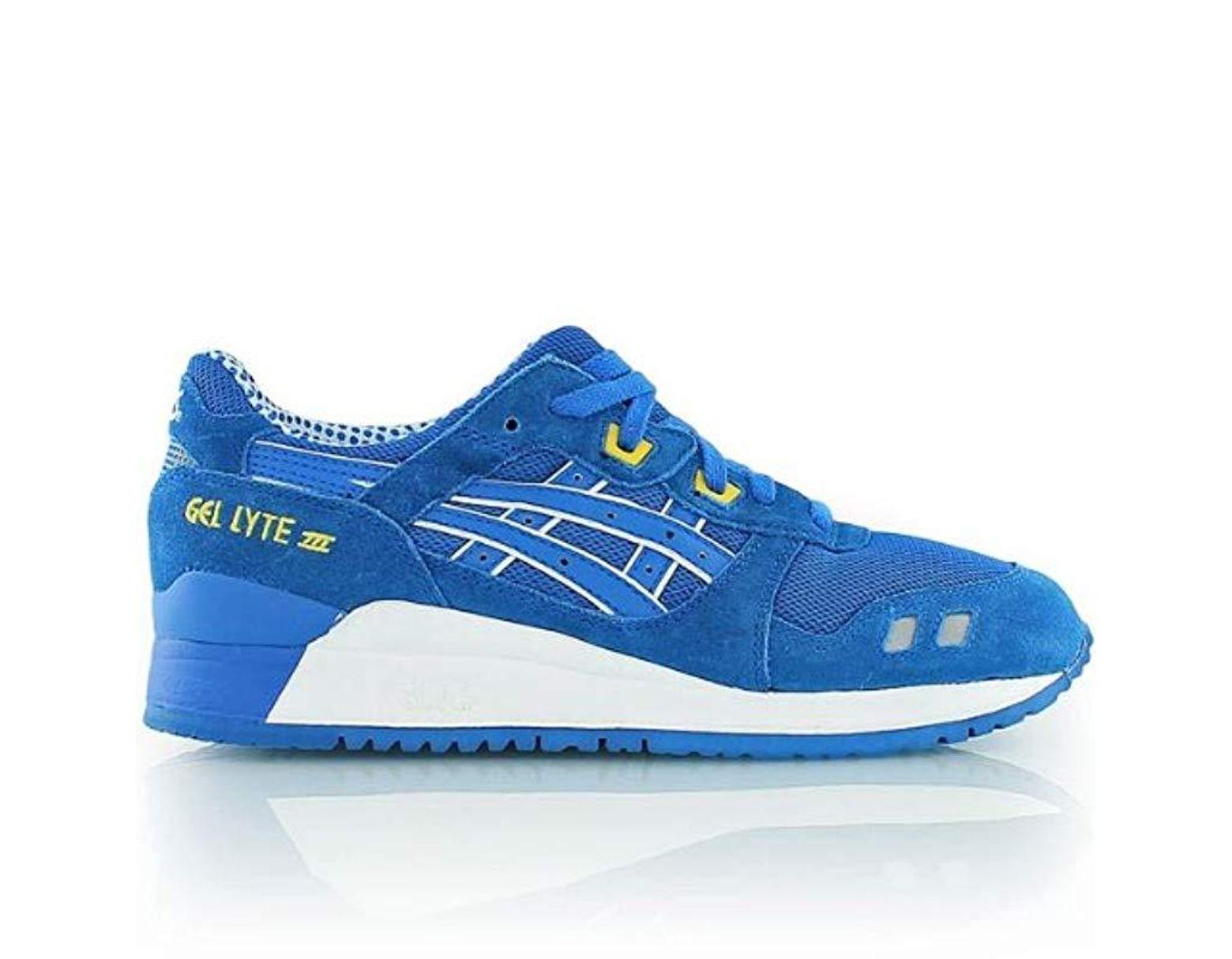 Asics Gel Lyte Iii Shoes Mid Blue Cmyk in Blue for Men Lyst