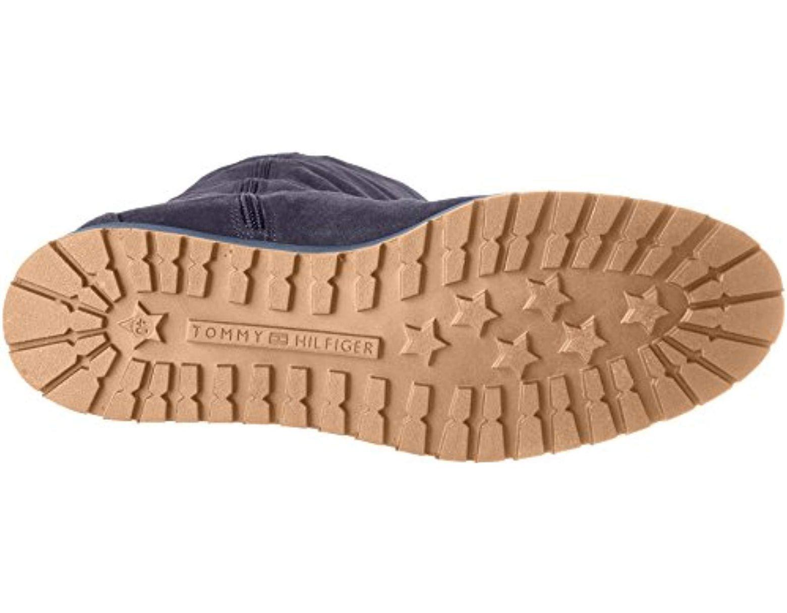 8d724eb4c30122 Tommy Hilfiger R1285ita 4b Boots in Blue - Lyst