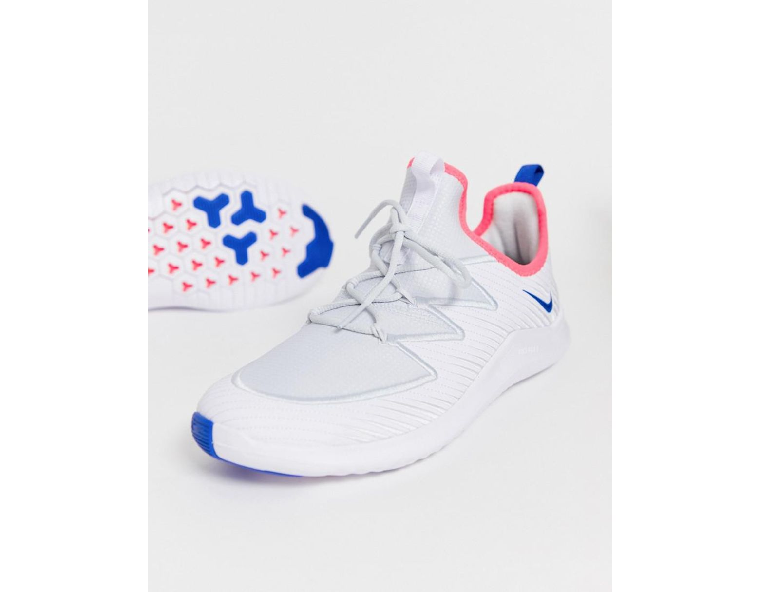 4b6435ddbcd5 Nike Free Tr 9 Trainers In White in White - Lyst
