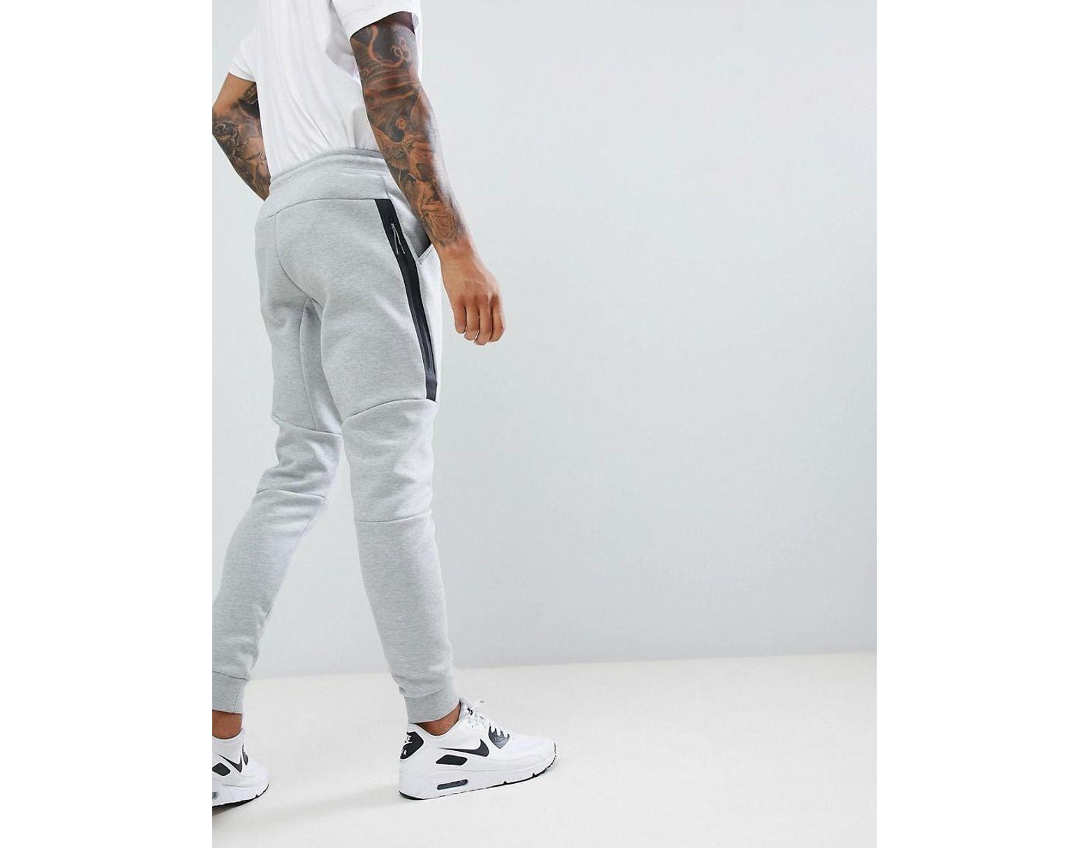 20b6d5fc4971b Nike Tech Fleece joggers In Grey in Gray for Men - Lyst