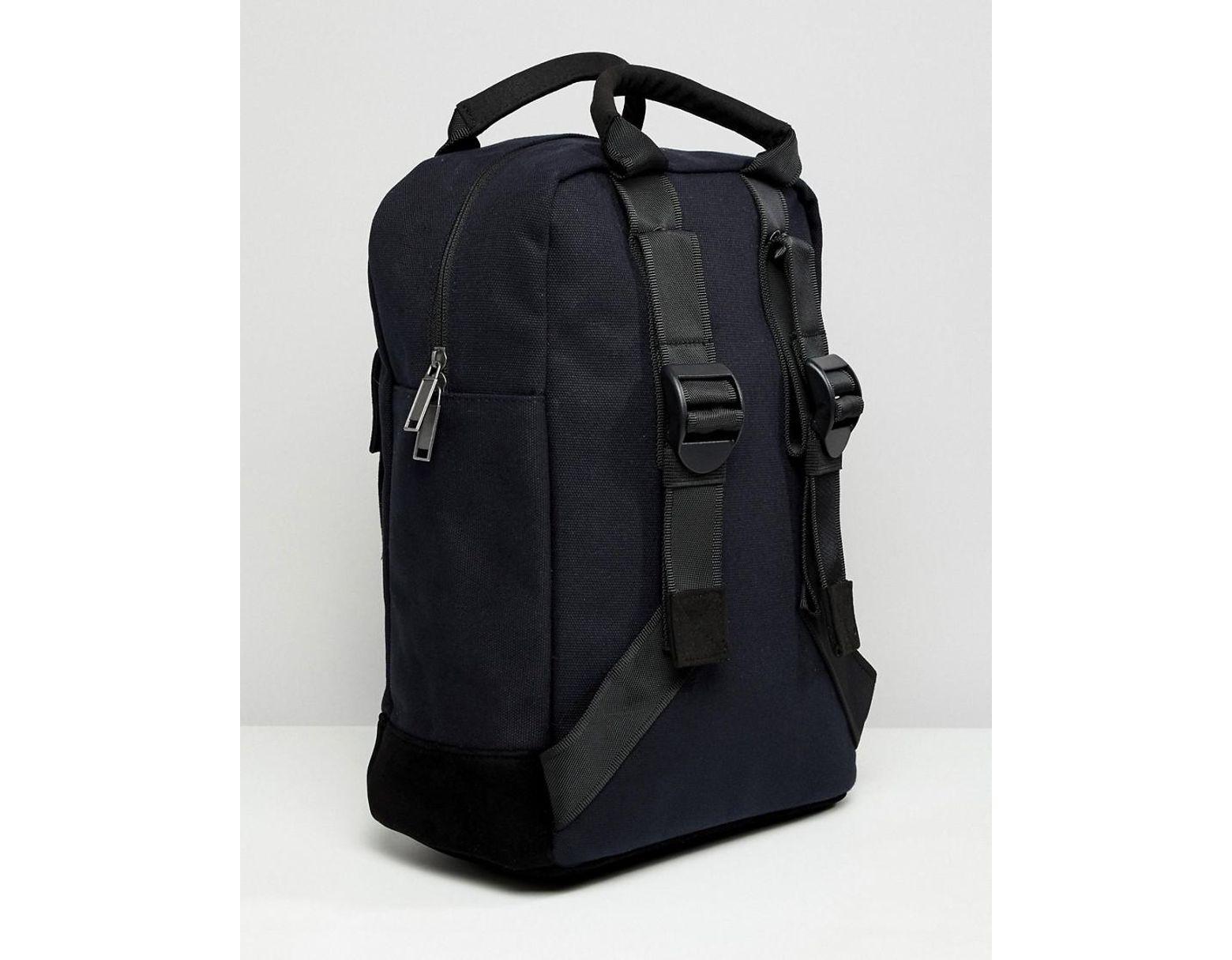 aa2cd75bad Mi-Pac Tote Backpack In Black in Black - Lyst