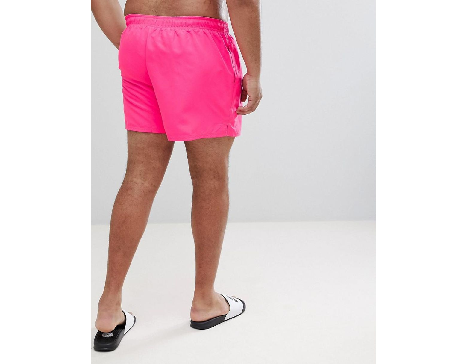 9a6608e69d0 Nike Nike Plus Exclusive Volley Swim Short In Pink Ness8830-678 in Pink for  Men - Lyst