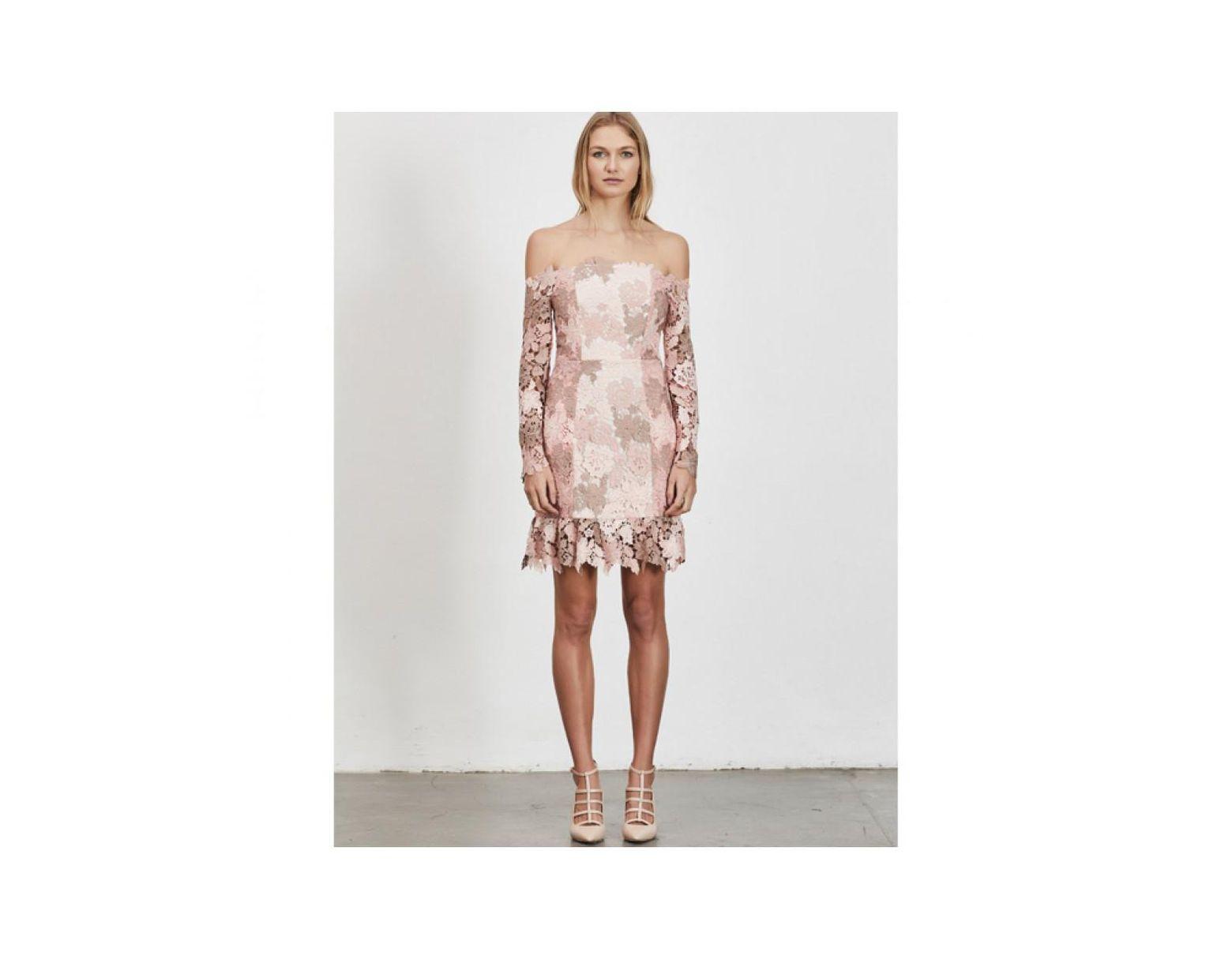 fe301958d9f36 Elliatt Harmony Dress Blush in Pink - Lyst