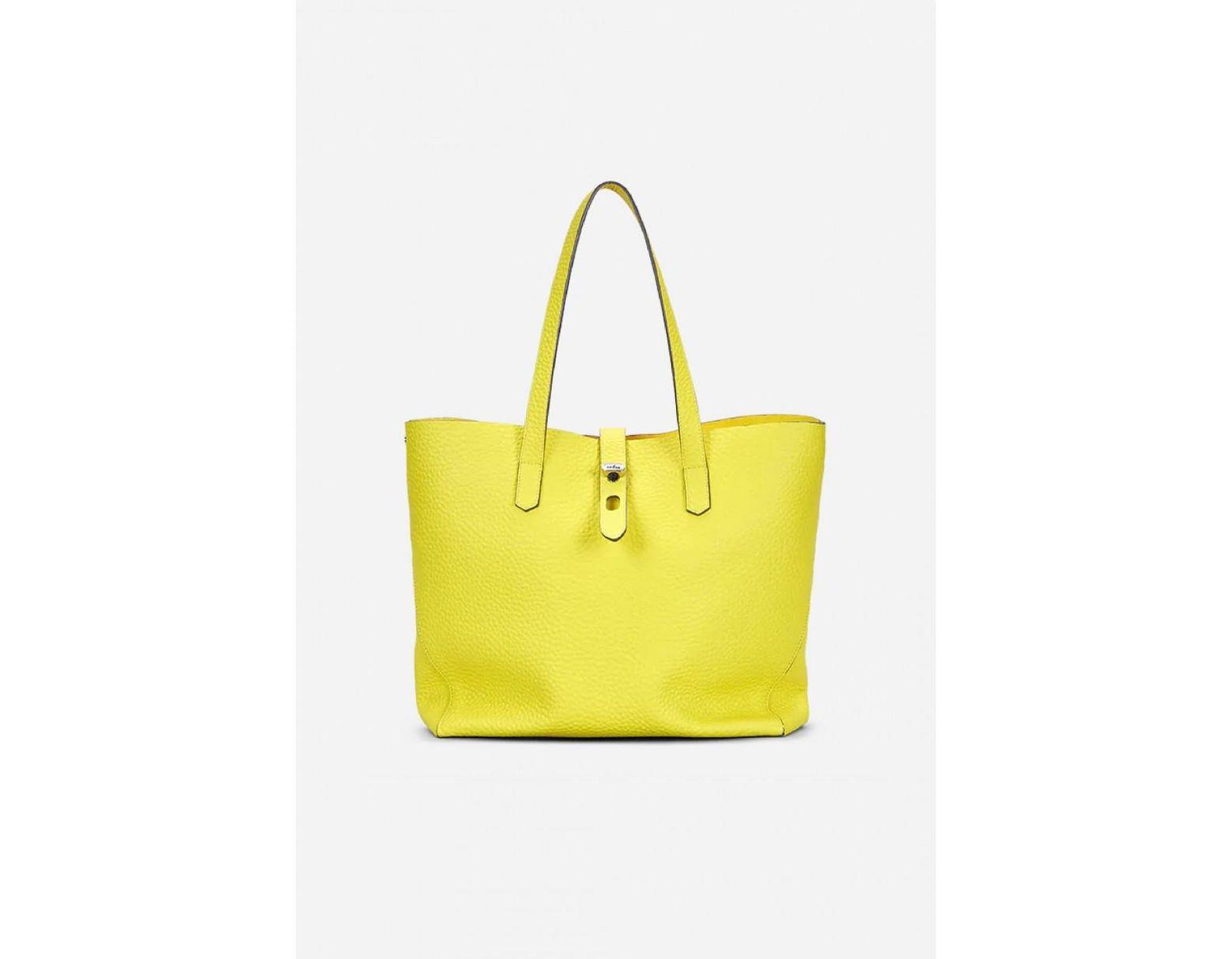 d33fe5c193c Hogan Shopping Bag Yellow in Yellow - Lyst