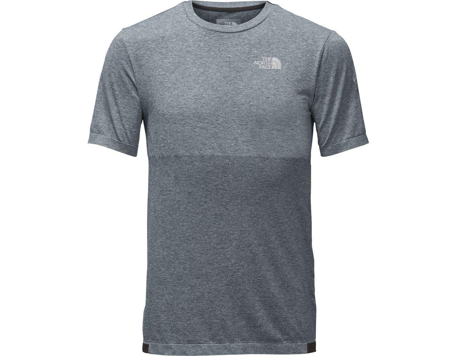 9035d1a2 The North Face Summit L1 Engineered Short-sleeve Top in Gray for Men - Lyst