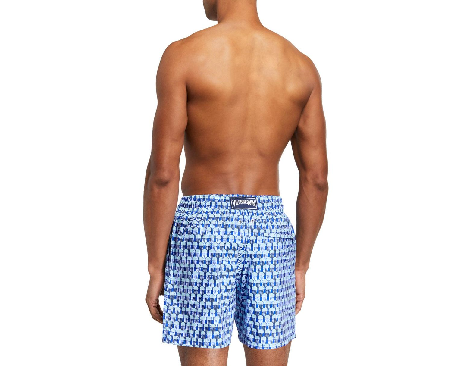 ebece7913b Vilebrequin Men's Mahina 15th August Instanbul Swim Trunks in Blue for Men  - Lyst