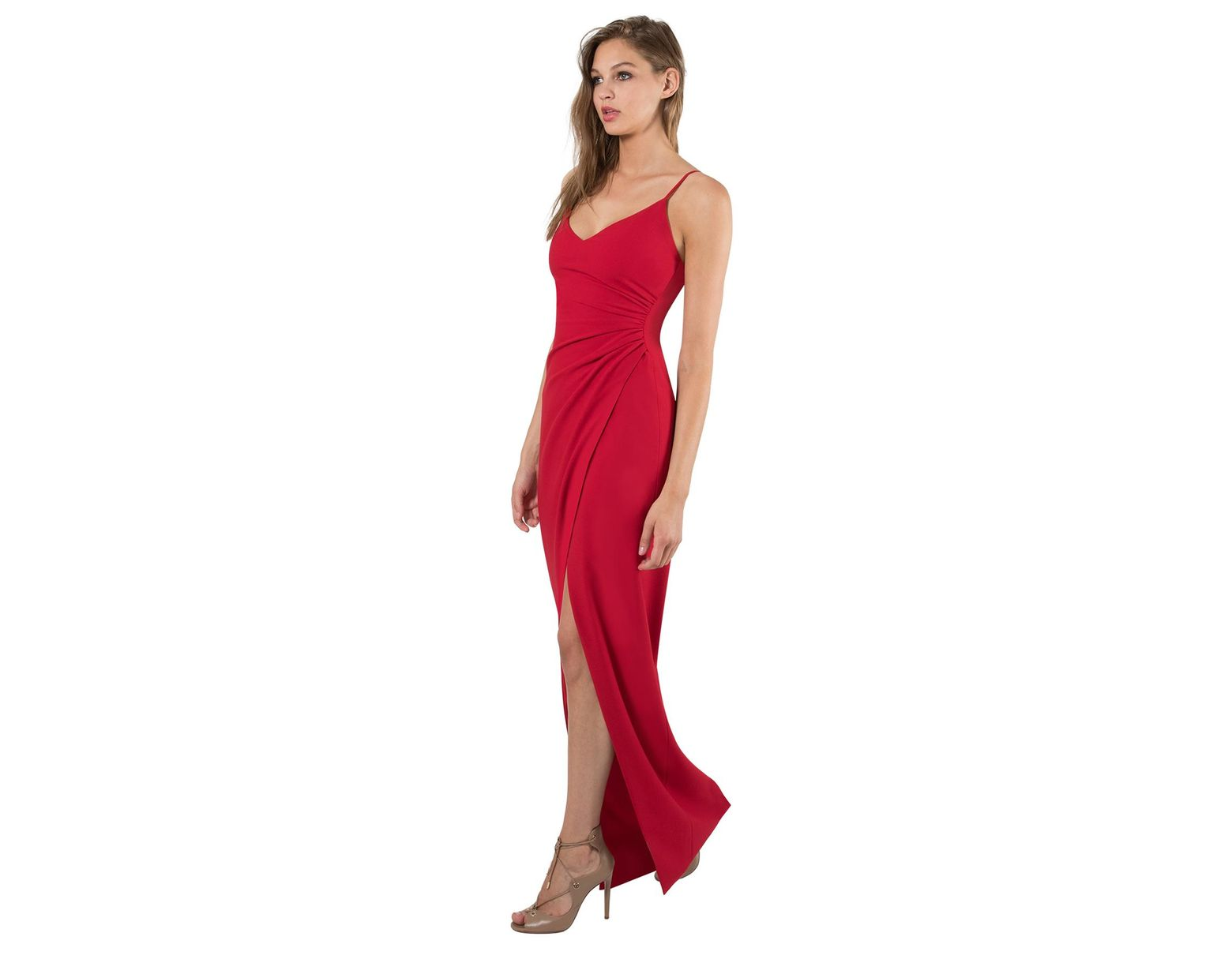 269cbf1ca627 Black Halo Bowery Gown in Red - Lyst