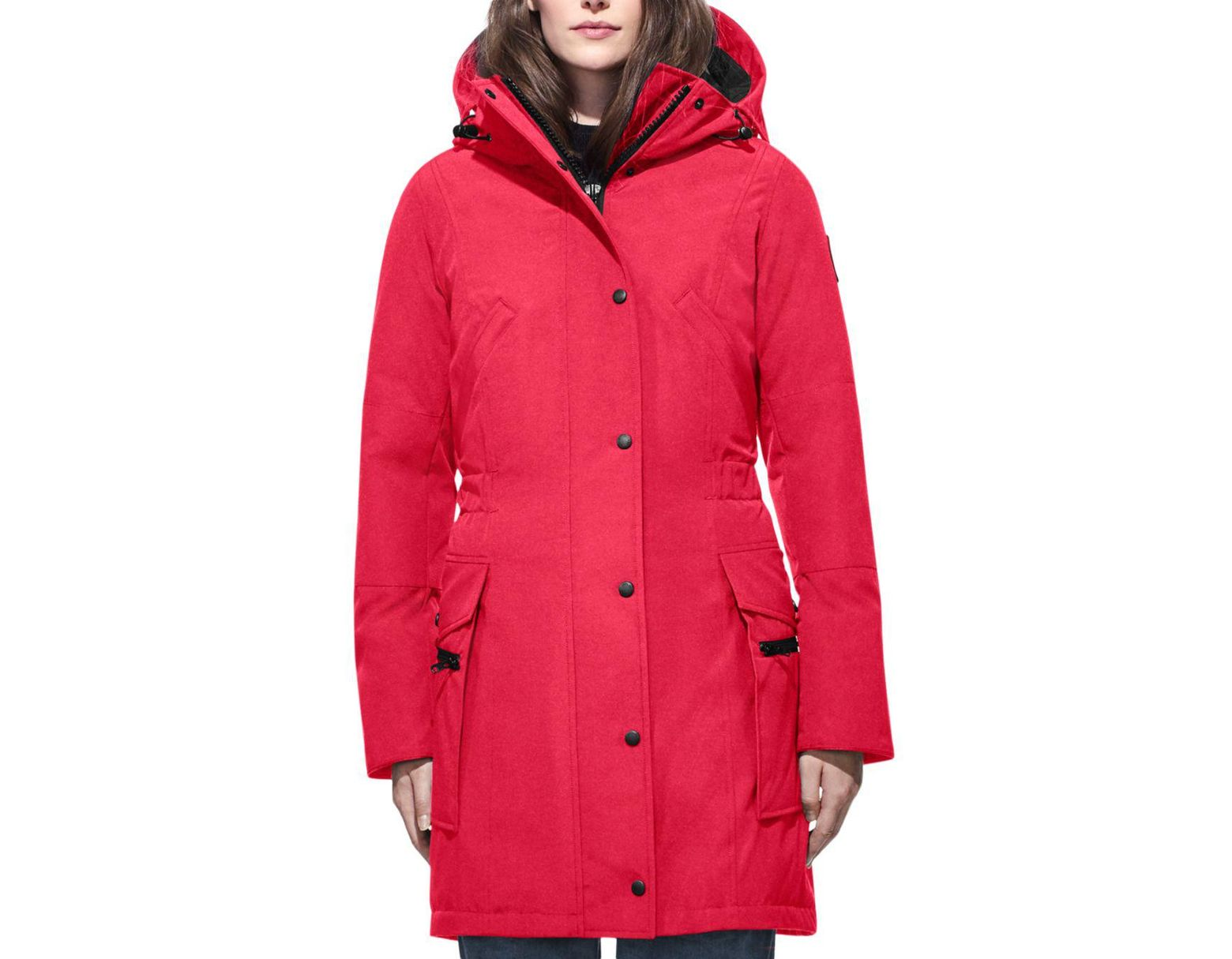0e9d9a96c12 Canada Goose Kinley Down Parka in Red - Lyst