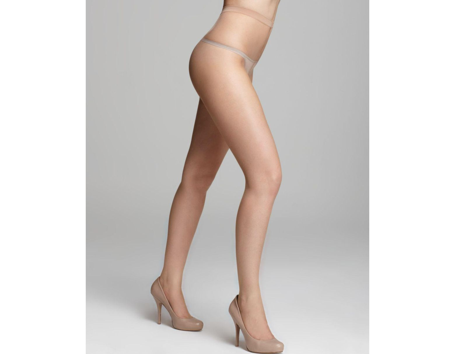 4577953a9 Wolford Naked 8 Tights - Lyst
