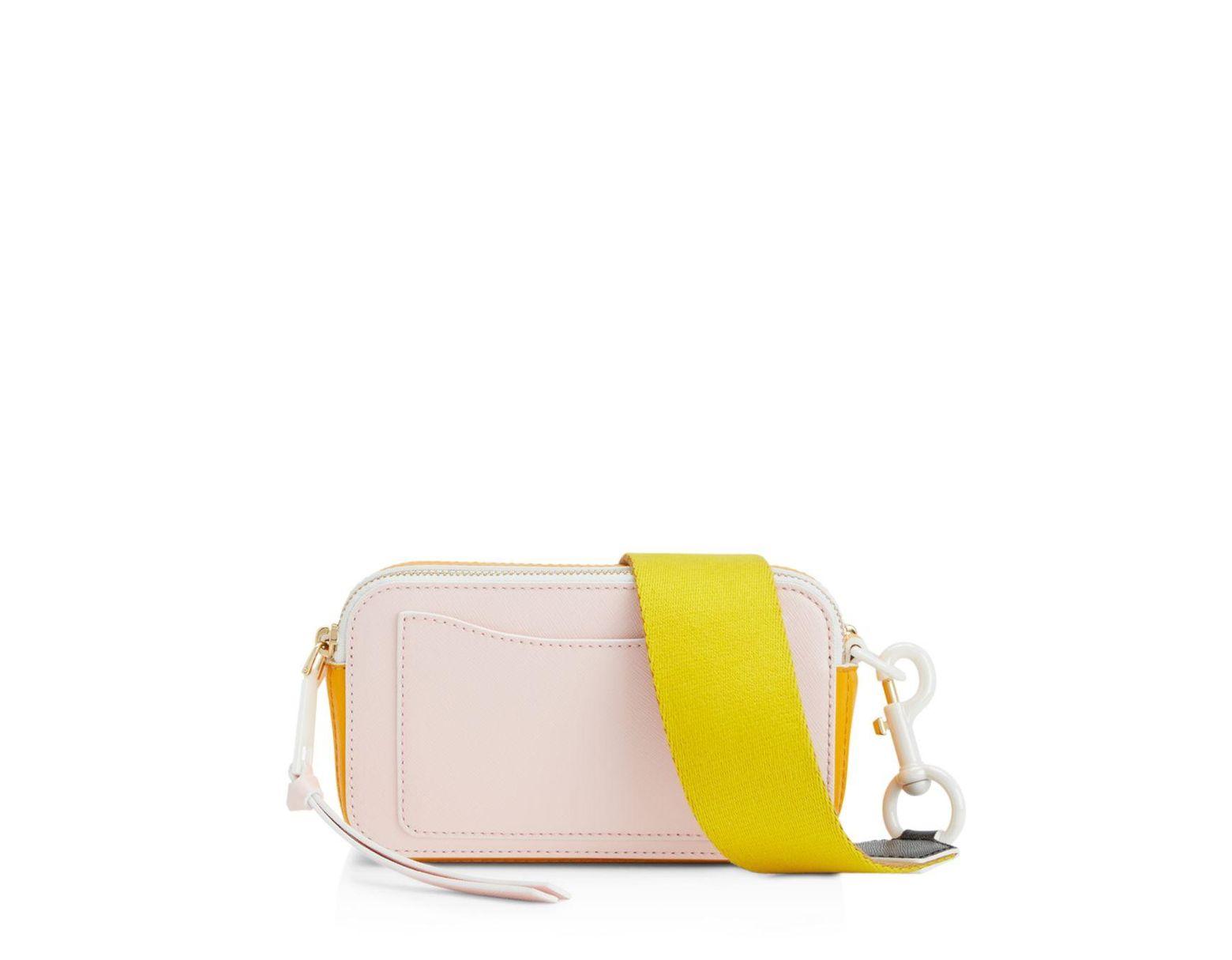 1e2a5f7faa0 Marc Jacobs Snapshot Ceramic Leather Crossbody - Lyst