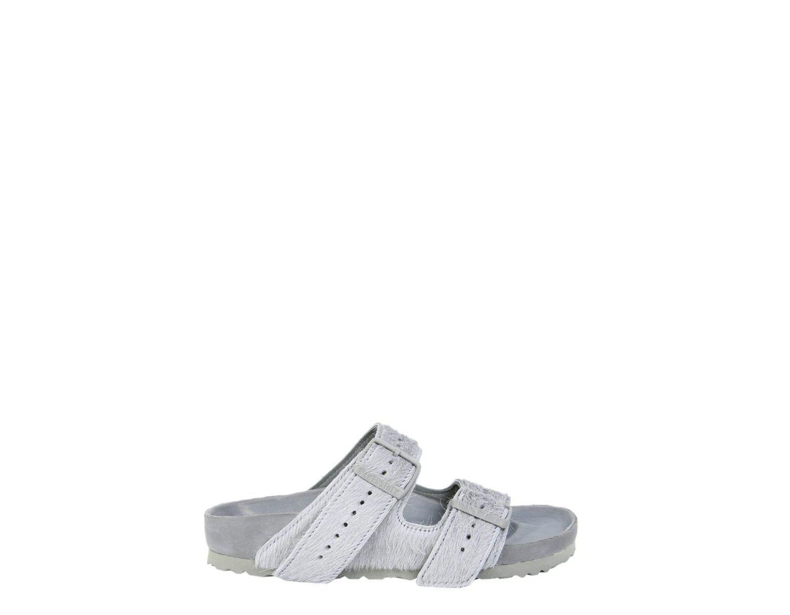 5f78718e7f Rick Owens X Birkenstock Arizona Sandals in Gray - Save 47% - Lyst