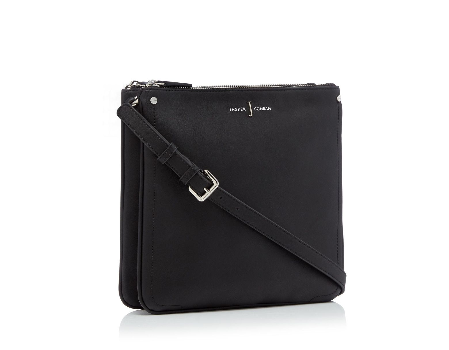 4788d2117a0bd7 J By Jasper Conran Black 'stockholm' Cross Body Bag in Black - Save 21% -  Lyst