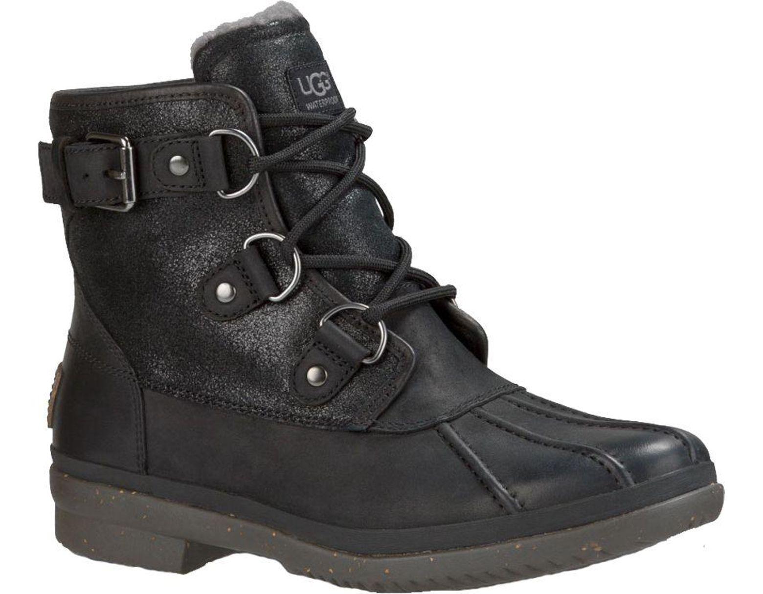 1eb1fb8398d Women's Black Australia Cecile Winter Boots