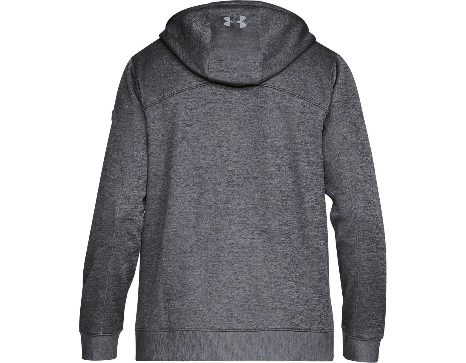 26f039e9 Under Armour Sportstyle Sweater Fleece Full-zip Long Sleeve T-shirt in Gray  for Men - Lyst