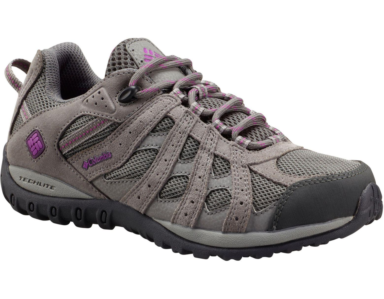 d4f4f279940 Women's Gray Redmond Waterproof Low Hiking Shoes