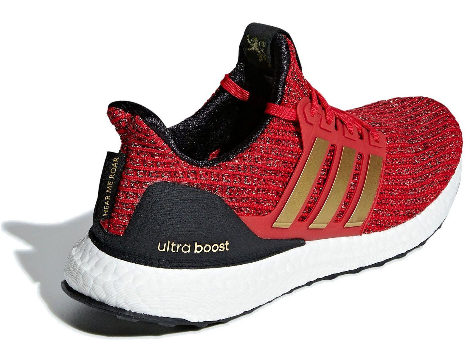 834f4678767ba Lyst - adidas X Game Of Thrones House Lannister Ultraboost Running Shoes in  Red