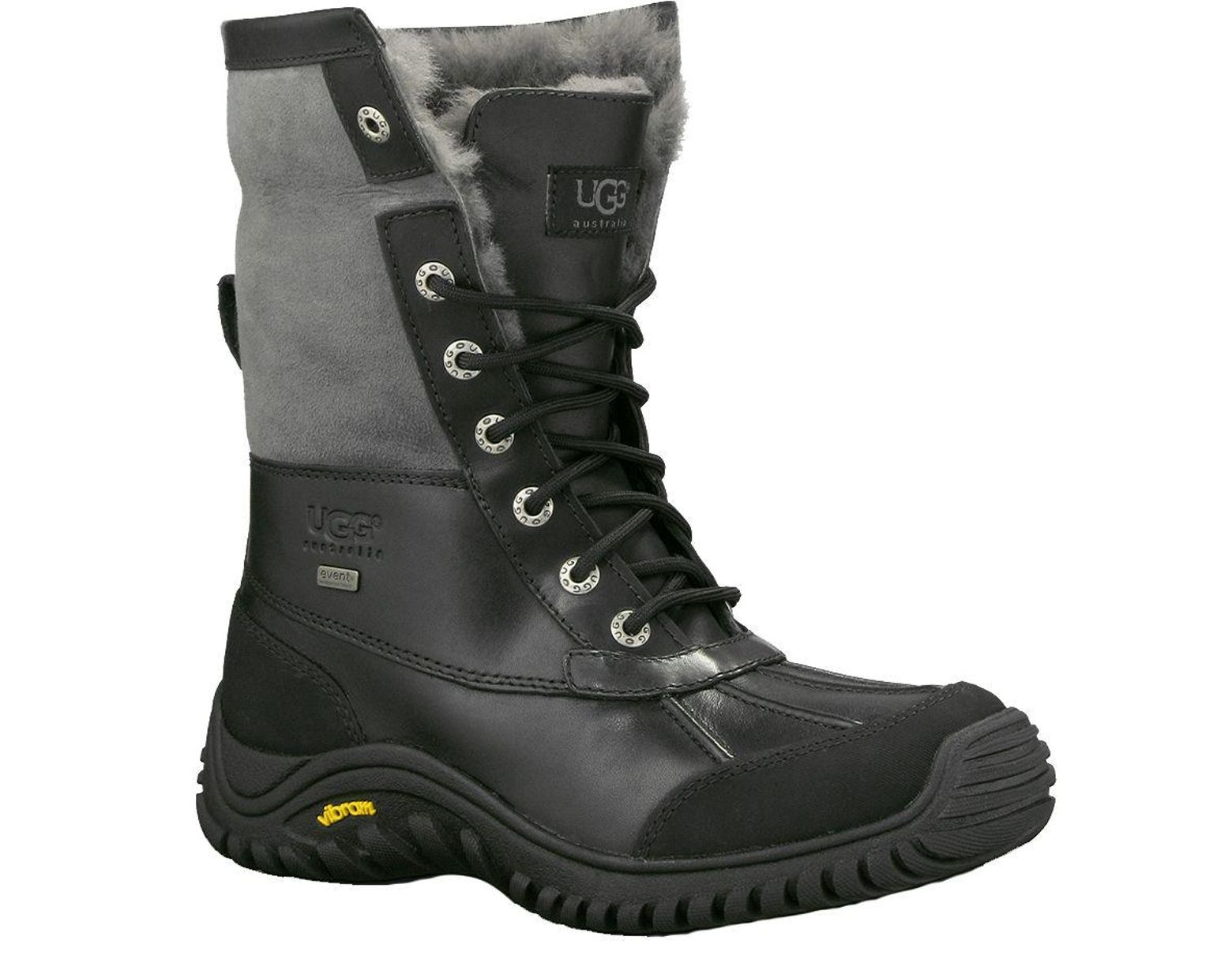 d934612abd2 Women's Black Australia Adirondack Ii Winter Boots