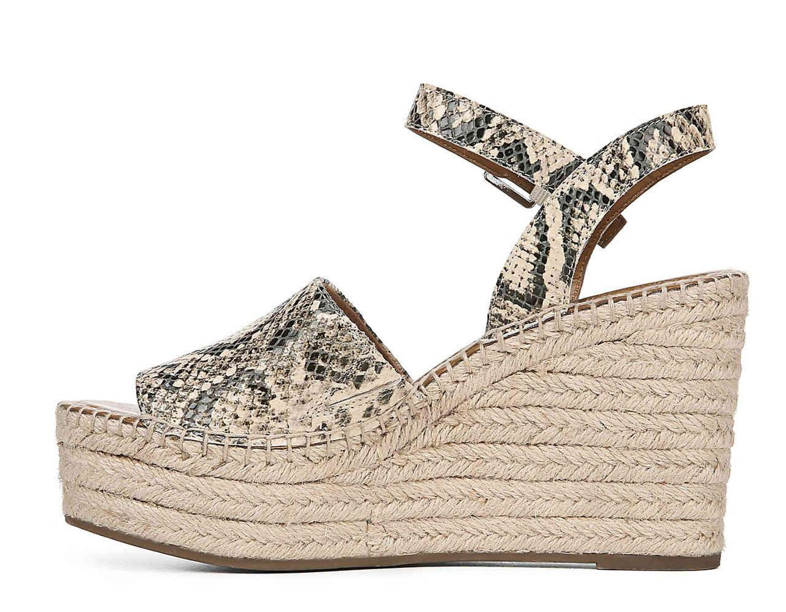 25157a4fd026 Lyst - Franco Sarto Takara Espadrille Wedge Sandal in Natural