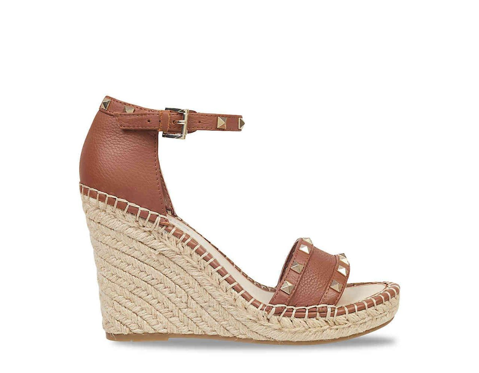 22d2cdfbb2fd Lyst - Marc Fisher Kegan Espadrille Wedge Sandal in Brown