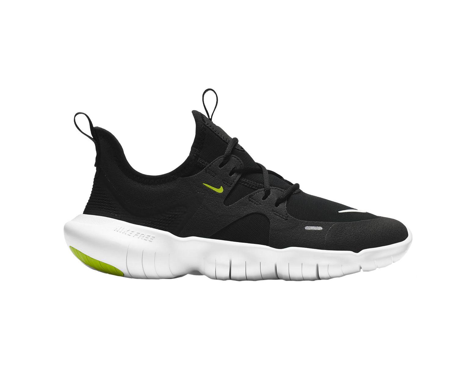 buy popular 5db52 4289a Nike - Black Free Run 5.0 Running Shoes for Men - Lyst