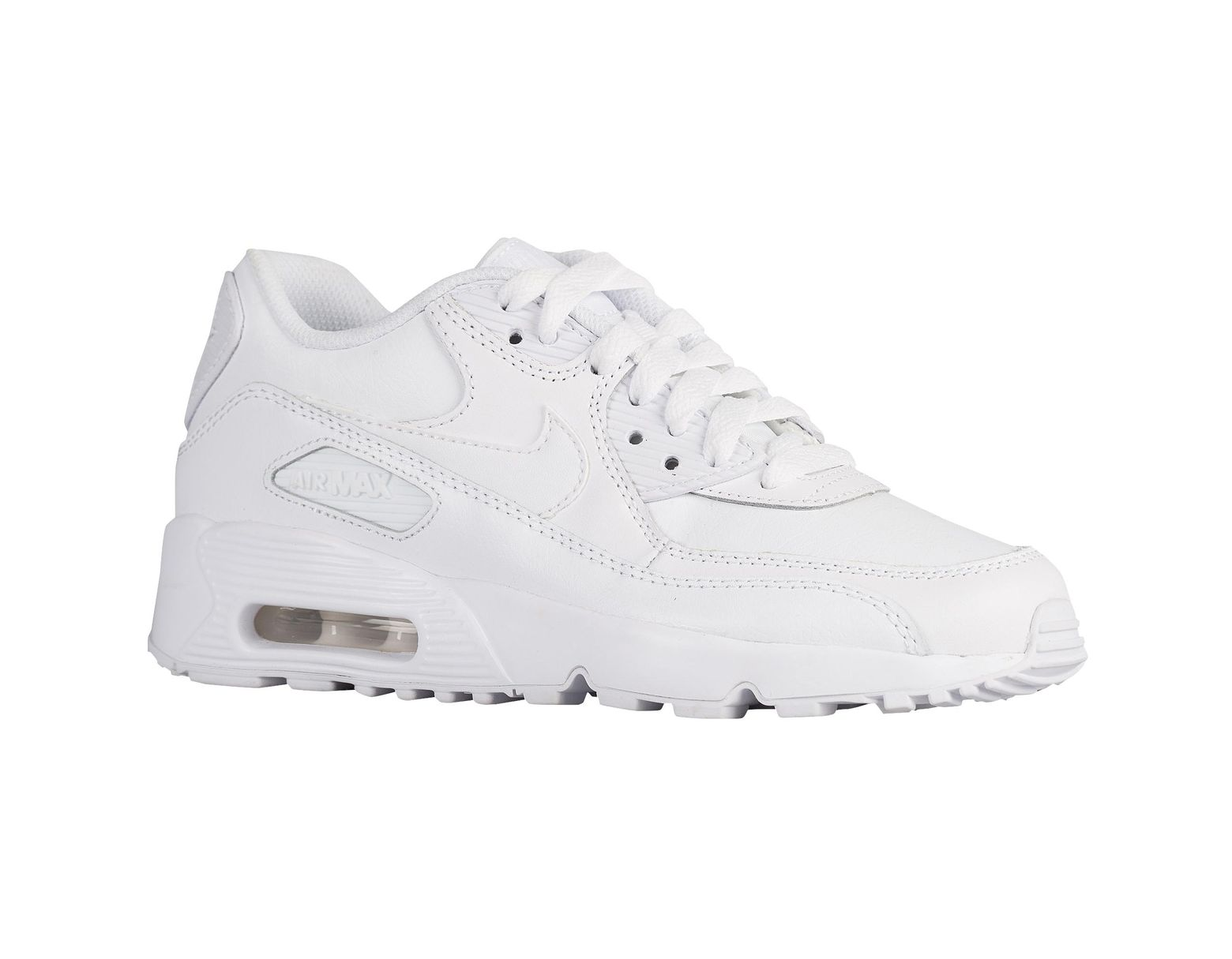 more photos 161f4 e8bfb Men's White Air Max 90 Running Shoes