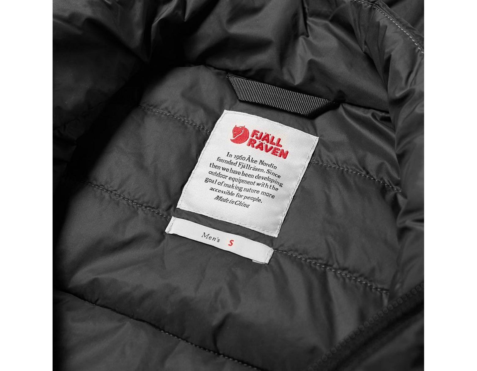 Volumen groß 100% authentisch Premium-Auswahl Fjallraven Keb Lite Jacket in Black for Men - Save 31% - Lyst