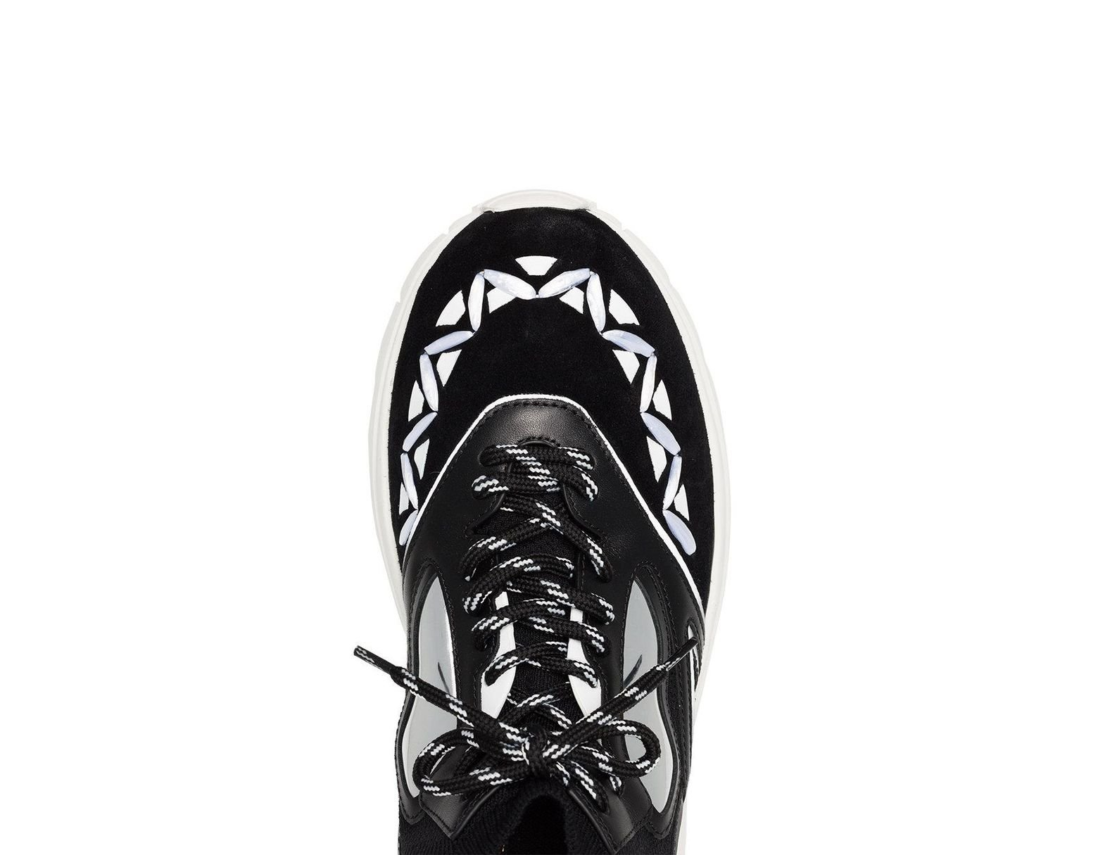 da2a9e8e15 Valentino Black Heroes Reflex Sneakers in Black for Men - Save 67% - Lyst