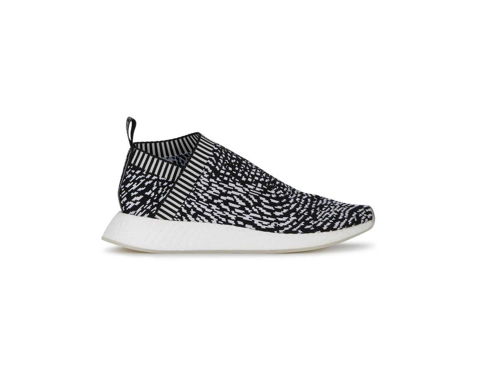 best sneakers 6aa0c f9937 adidas Originals Nmd cs2 Primeknit Sneakers in Black for Men - Save 61% -  Lyst