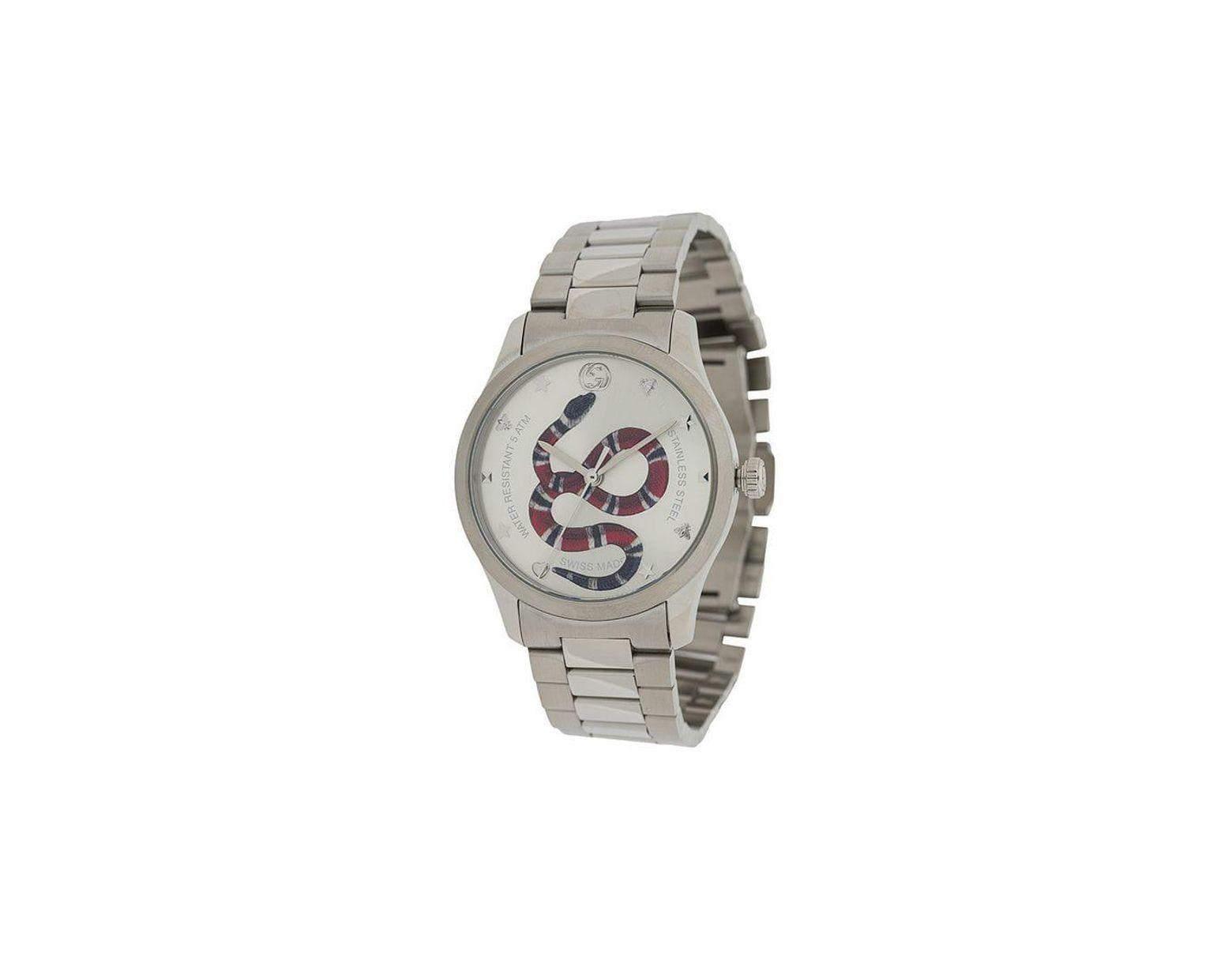 7bd9f5f5274 Lyst - Gucci G-timeless Watch