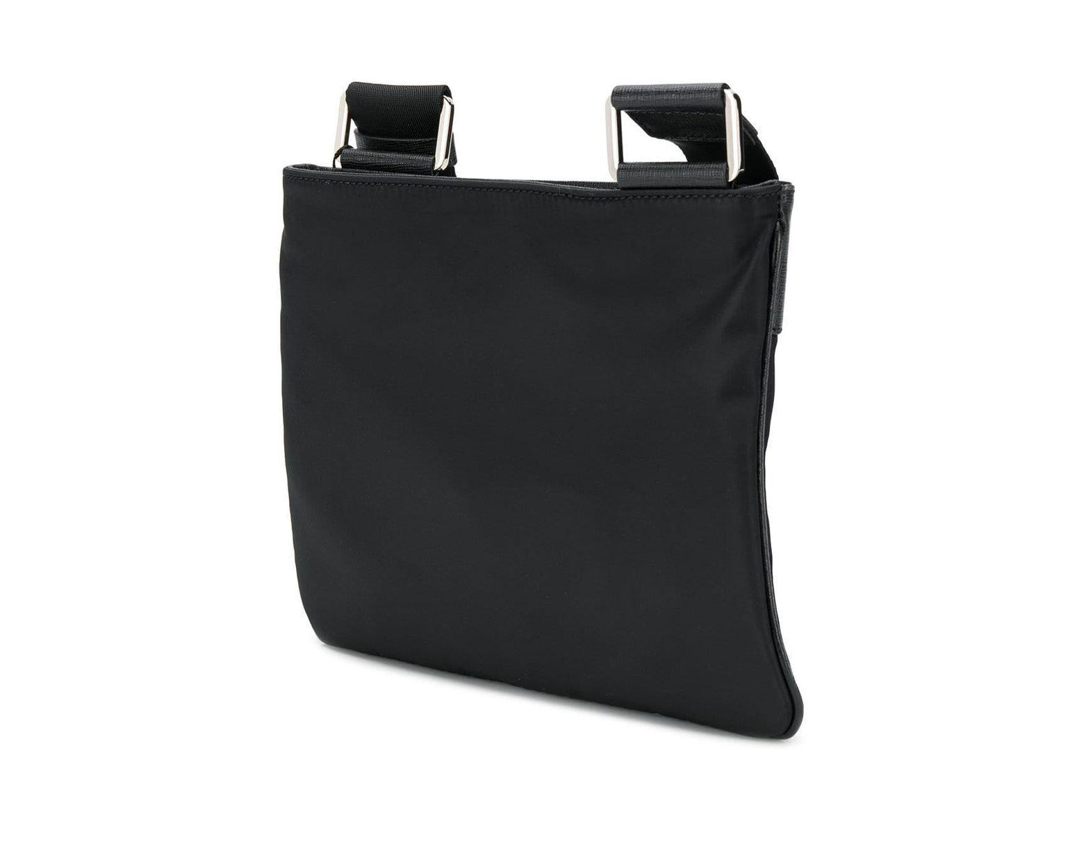 3a7306f939 Philipp Plein Logo Plaque Shoulder Bag in Black for Men - Lyst