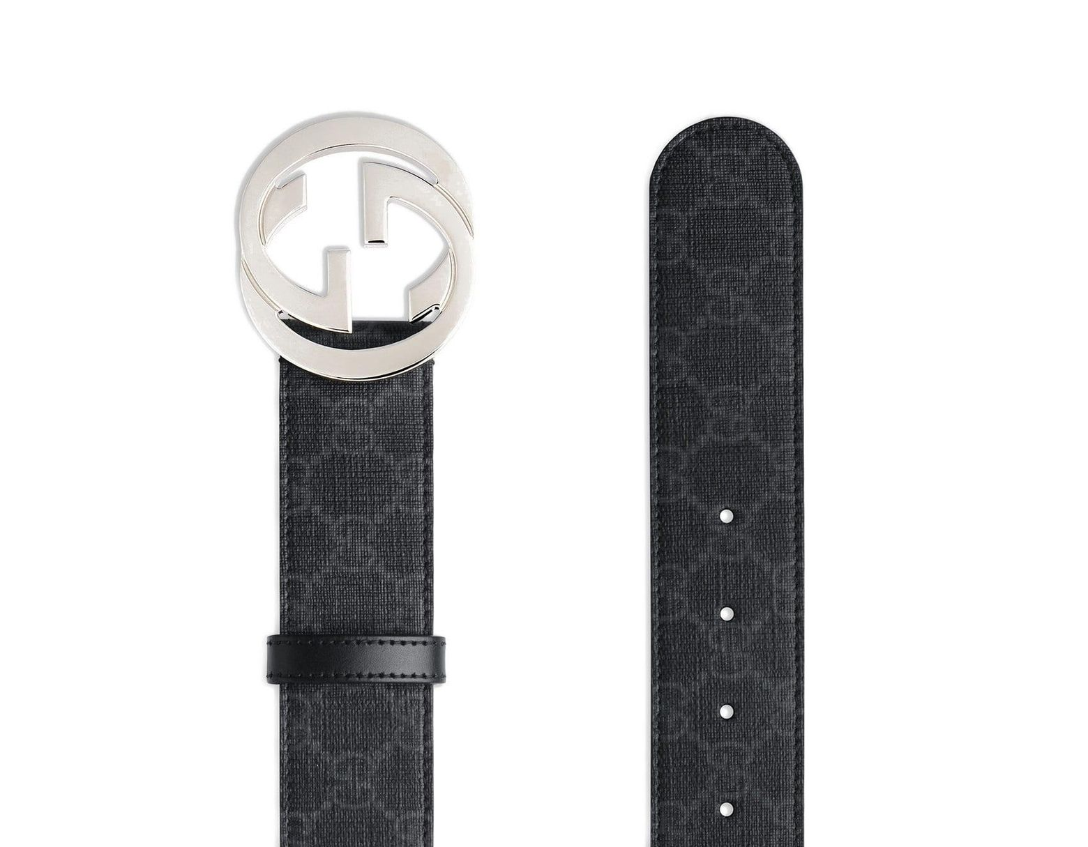 68030be67 Gucci GG Supreme Belt With G Buckle in Black for Men - Save 41% - Lyst
