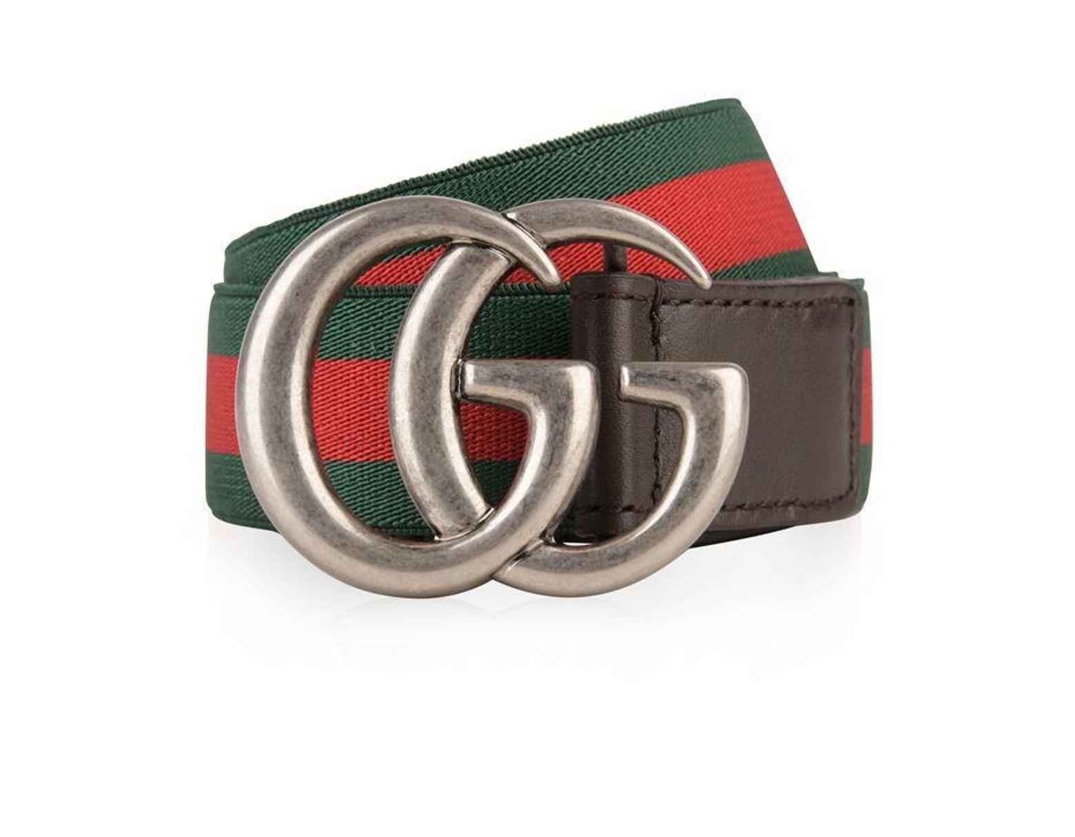 d70f65a9b Gucci Children Unisex Web Belt for Men - Lyst