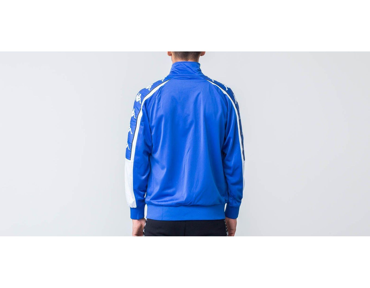 b173de1a47 Kappa Banda 10 Ahran Jacket Blue Royal/ White in Blue for Men - Save 40% -  Lyst